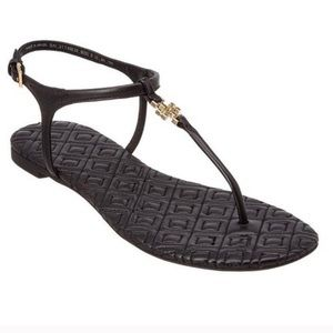 Tory Burch Marion quilted leather sandals